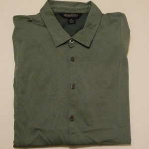 Brooks Brothers NWOT S/S Forest Green XXL shirt